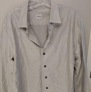 EUC Armani men's dress shirt